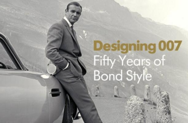 Designing 007 - Fifty Years of Bond Style by The Barbican Centre